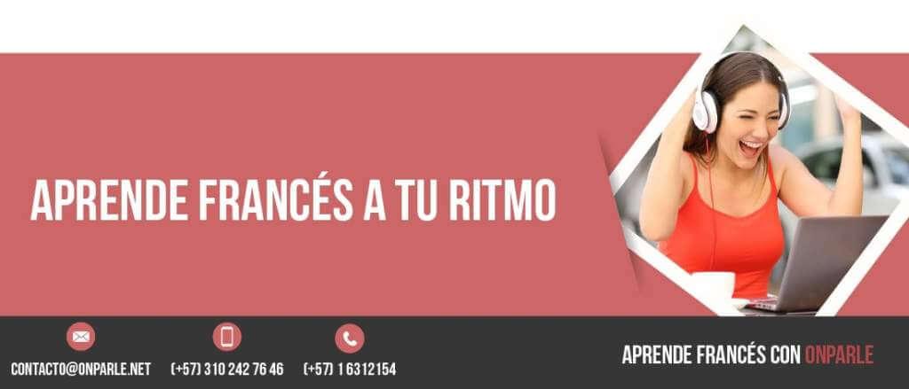 Estudiar francés con las clases de francés online de onparle.net