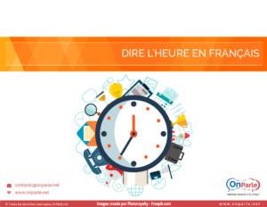 La hora en francés