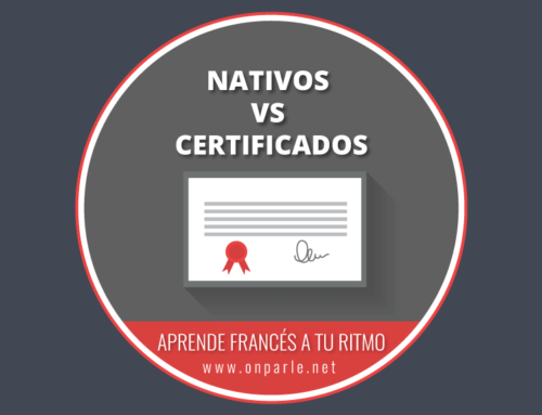 ¿Cuál es la diferencia entre un nativo y un profesor de francés certificado?