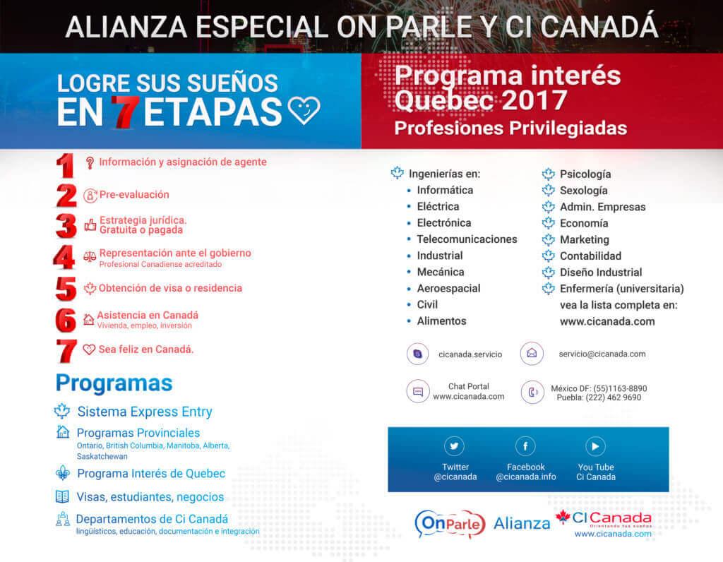 Emigrar a Canadá con Cicanada